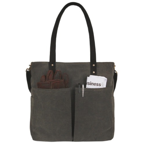 모노노 monono 6pocket 3waybag wax canvas charcoal 남자 토트백 크로스백