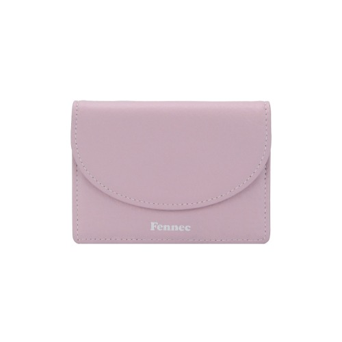 페넥 fennec . halfmoon accordion pocket LILAC PINK