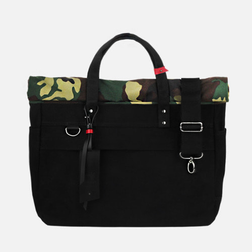 MONONO 모노노  roll up 3 way bag - super oxford . camoflage