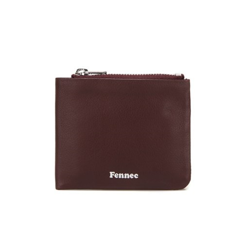 페넥  FENNEC . soft fold wallet . wine