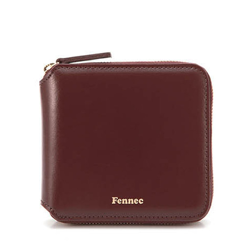 페넥 fennec zipper wallet wine